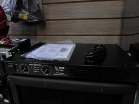 Amplificador Slim Potência Audio Leader 1000 Watts Rms