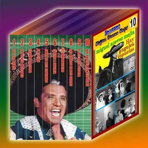 Nova Coleção Miguel Aceves Mejia - Lote 1 - 10 Dvds.