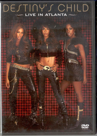 Destiny S Child - Live In Atlanta Dvd