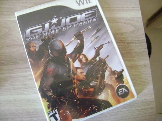 Gi Joe Rise Of Cobra Nintendo Wii Completo Americano