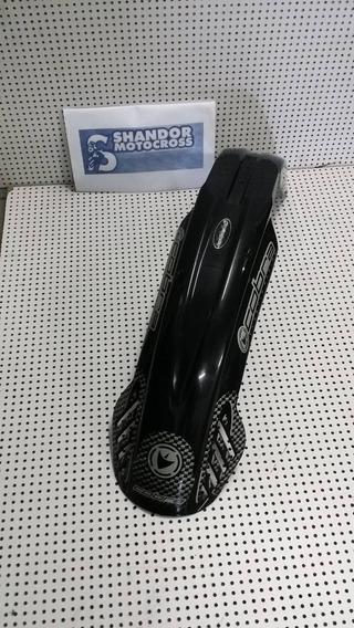 Para-lama Dianteiro Universal Trial Cobra Preto