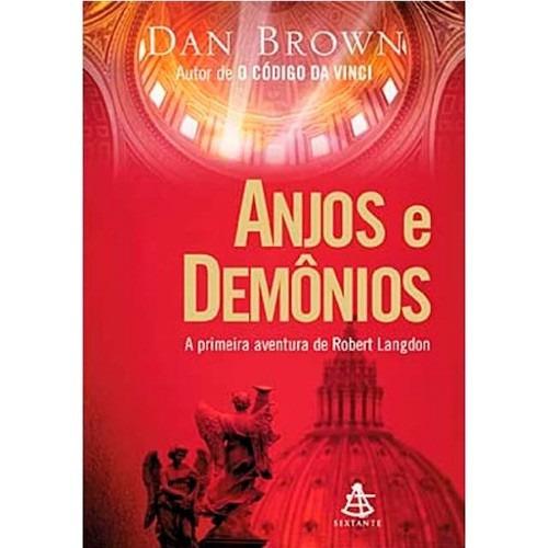 Livro: Anjos E Demônios - Dan Brown - Literatura Estrangeira