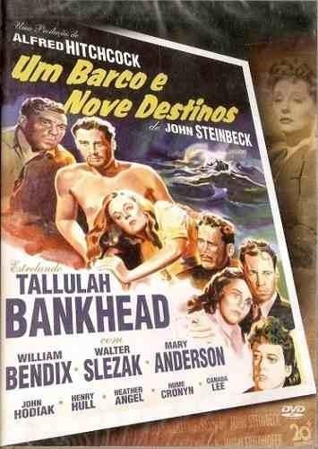 Dvd - Um Barco E Nove Destinos - Alfred Hitchcock - Lacrado