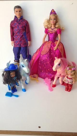 Coleção Castelo De Diamante Barbie