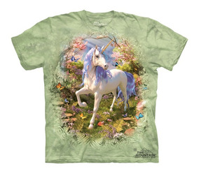 Playera 4d - Unisex Infantiles - 8271 Unicorn Forest.