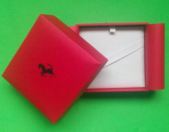 Caja Original Para Articulos Ferrari 9.5 X 9 X 5.5 Cm.buena