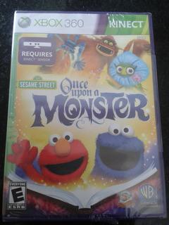 Once Upon A Monster - Sesame Street Ntsc - Kinect (nuevoo!)