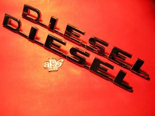 Dodge Pick Up - Insignia Diesel Lateral Original Cada Una