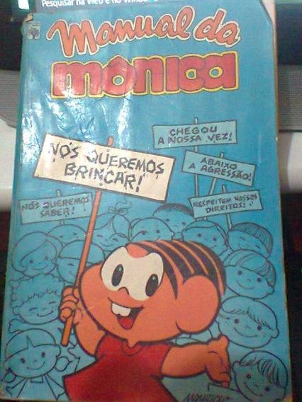Manual Da Monica ( 1ª Edição - 1979)( Frete Grátis)