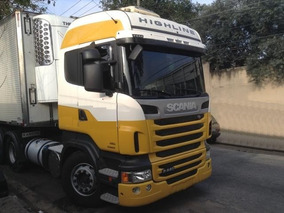 Scania R 440 6x2 Opticruise Highline 2013 / 2013 Completo