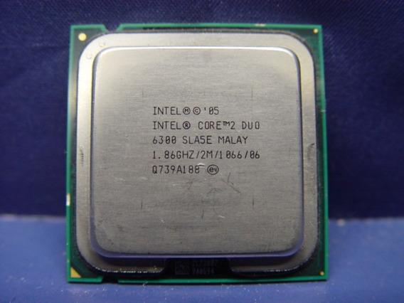 Processador Intel Core 2 Duo 6300 1.86ghz 2m Cache 1066mhz