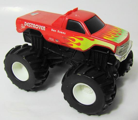 Ok Chevy C/k Pickup Destroyer Monster Truck 1/43 - Mattel Hw