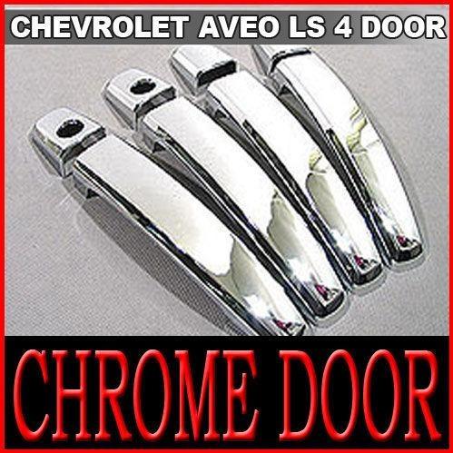 Manillas Cromadas Para Chevrolet Aveo Lt Ls