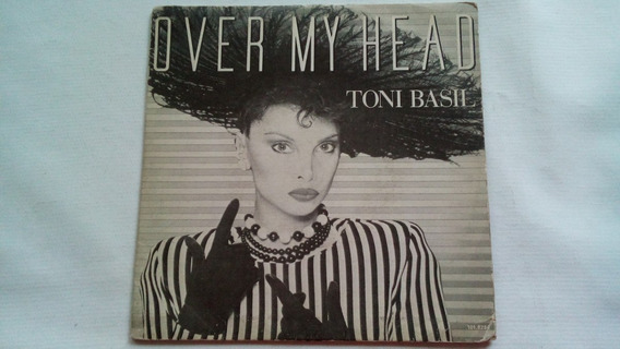 Compacto - Toni Basil - Over My Head - Virgin - 1984