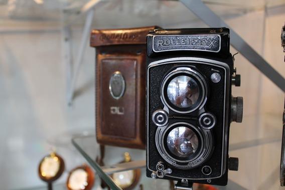 Câmera Fotográfica Rolleiflex - Com Case Original!