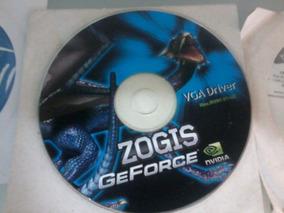 Cd De Instalação Zogis Geforce Nvidia - Vga Drives