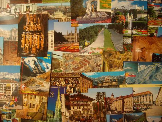 Lote De 51 Postales De Austria - Sin Uso