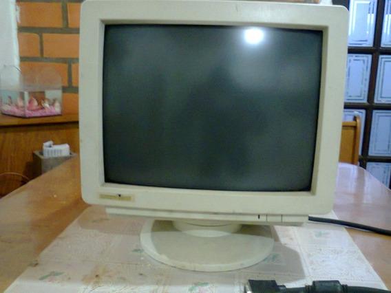 Monitor Para Computador Antigo - Funcionando