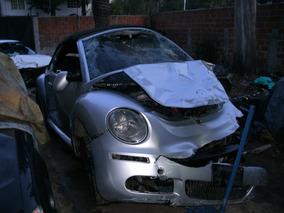 Vw New Beetle 2.5 Cabrio Sport 2008 Baja Con Alta Motor