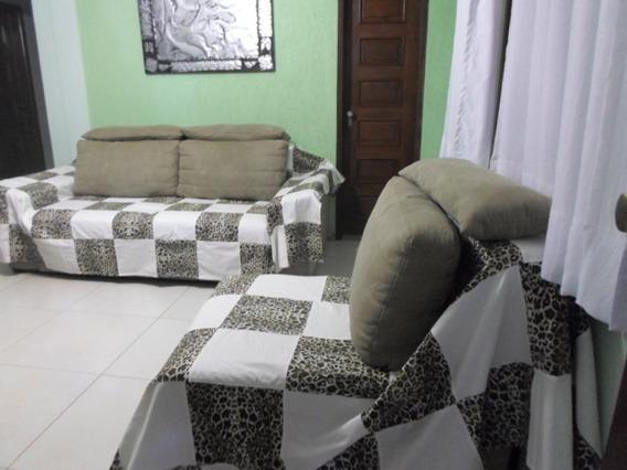 Capa De Sofa Artesanal Rustica Em Retalho