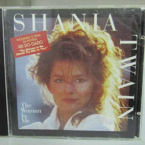 Cd Shania Twain The Woman In Me
