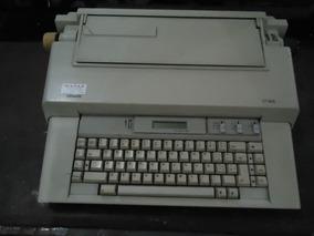 Máquina De Escrever Elétrica Olivetti Ct.605-leia Descrição