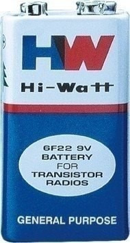 Bateria 9v Hi-watt 6f22m Caixa C/ 10 Unidades Controle