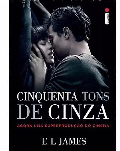 Livro Cinquenta Tons De Cinza (capa Do Filme)