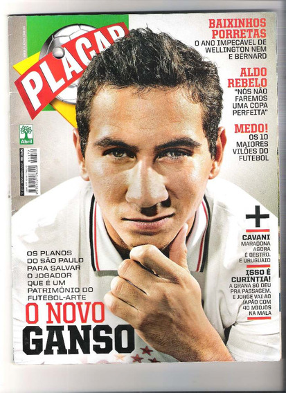 Revista Placar Edição N° 1372. Capa De Sp.