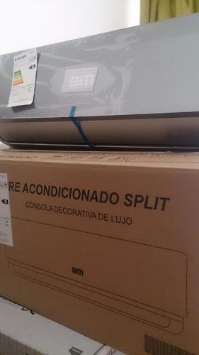 Aire Acondicionado Split De Lujo Decorativo 18 Mil Btu
