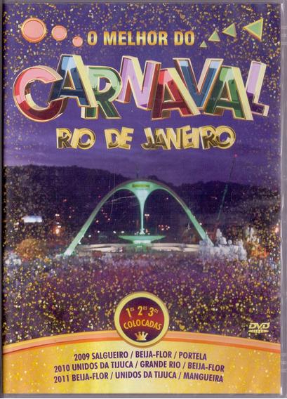 Dvd O Melhor Do Carnaval - Rio De Janeiro 2009 A 2011