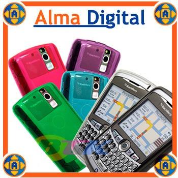 2x1 Forro Acrigel Blackberry Curve 8300 8310 8320 Manguera