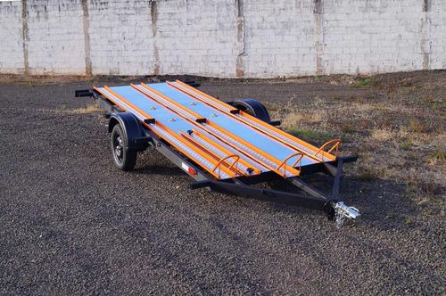 Carreta Reboque Para  6 Motos - Muito Prática - Zero Km