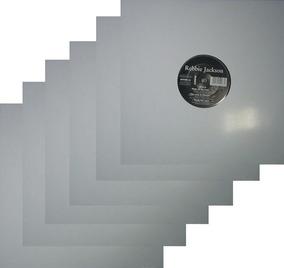 10 Capas Brancas Lp 12 + Plasticos Sacos Vinil Disco Novela