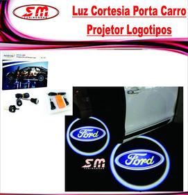 Projetor Porta De Carro Luz De Cortesia Iluminação Ford