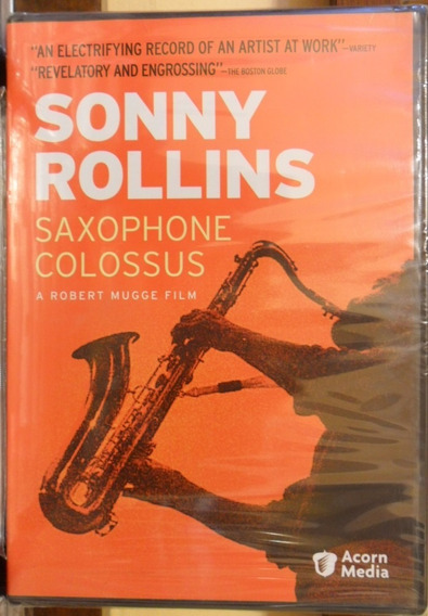 Dvd Sonny Rollins Saxophone Colossus