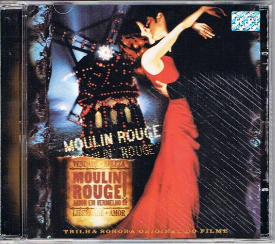 Cd Filme Moulin Rouge Original Universal Music 15faixas