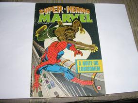 Super-herois Marvel Nº 11 Editora Rge Ótimo Est Frete Gráti