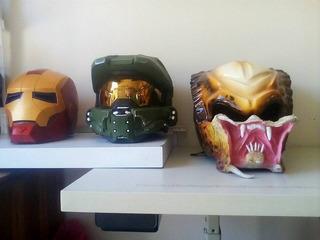 Casco Depredador Halo Ironman De Contado O En Cuotas
