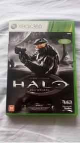Halo Edição Especial Xbox 360 2 Jogos