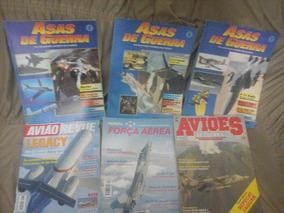Lote 11 Revistas Sobre Aviação