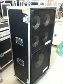 Road Case Para Caixas Gk 1x15 E 4x10+ Case Ha3500