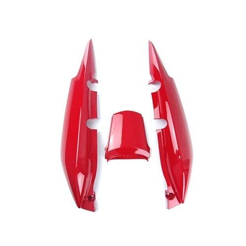 Rabeta Traseira Honda Fan125 2009-2013 Vermelha S/adesivo