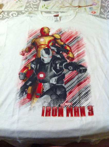 Playeras Iron Man 3 Originales Marvel