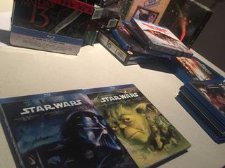 Star Wars Blu-ray - Saga Completa Bluray Nuevas
