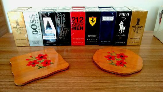 Perfumes Importados - Kit Com 3 - Incrível Fixação!