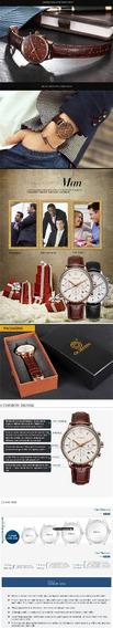Relógio De Pulso Cronógrafo Ochstin Couro Quartz Watch Relog