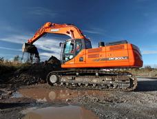 Excavadora Sobre Orugas Doosan Dx 300 Lca
