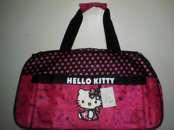 Bolso De Viaje De Hello Kitty Original Sanrio