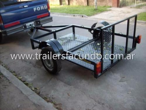 Trailer Piso Bajo Cuatris, Motos Etc. Stock Permanente